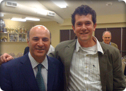 Paul Veldman and Kevin O'Leary