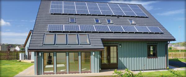 microgeneration solar panels