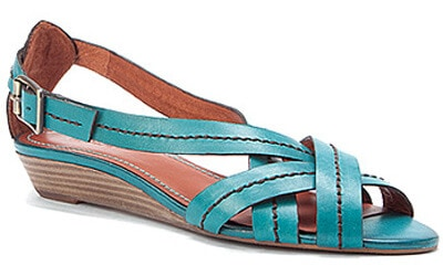 ocean leather kelp sandals
