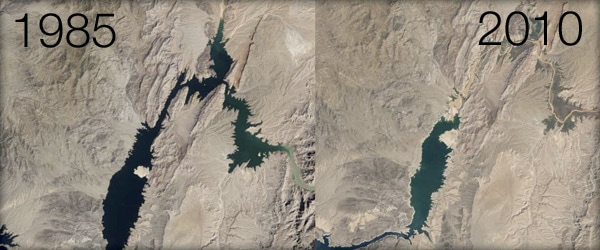 The Collapse of Lake Mead: Water Loss in America's Biggest