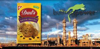 natural gas dad's cookies bullfrog power