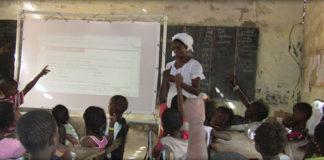 solar powered interactive whiteboard