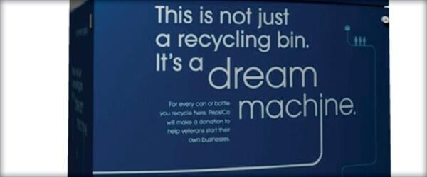 Pepsi recycling dream machine