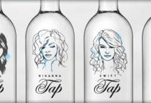 celebrity tap bottled water