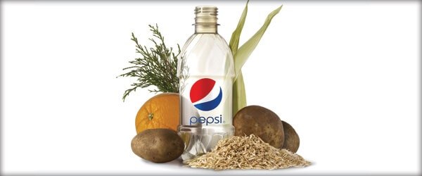 pepsi plant based PET bottle