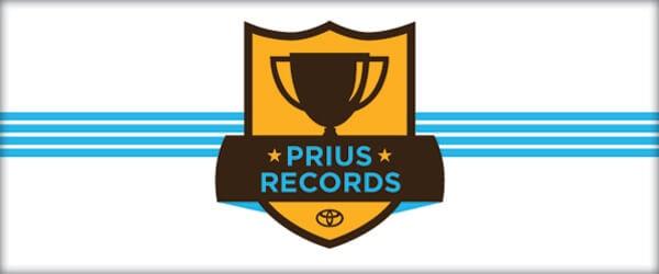 toyota prius records