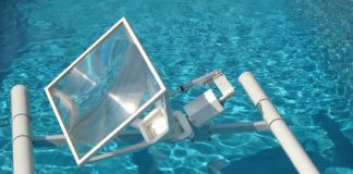 sun energy liquid floating solar array