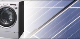 solar powered washing machine