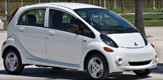 mitsubishi electric car