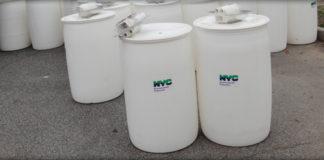 NYC rain barrels