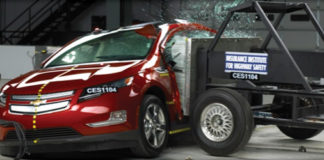 Chevrolet Volt crash test
