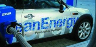 hydrogen powered car