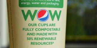Pepsi biodegradable cup