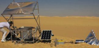 solar invention sand