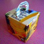 Orange Juice Carton Gift Box