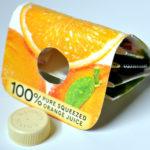 Orange Juice Carton Wallet