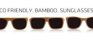 PANDA bamboo sunglasses