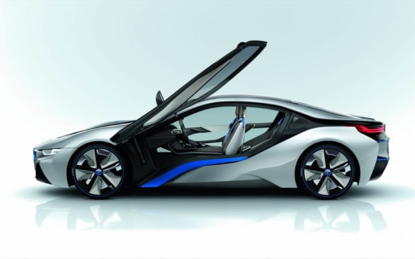 BMW i8 electric car concept