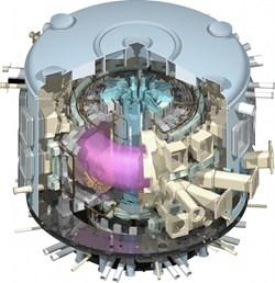 ITER Tokamak hot fusion power generator
