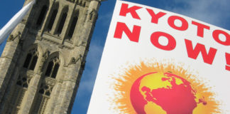 Kyoto Now at Canadian Parliament