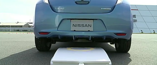 Nissan introduces wireless charging for the LEAF