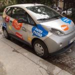 Autolib electric car