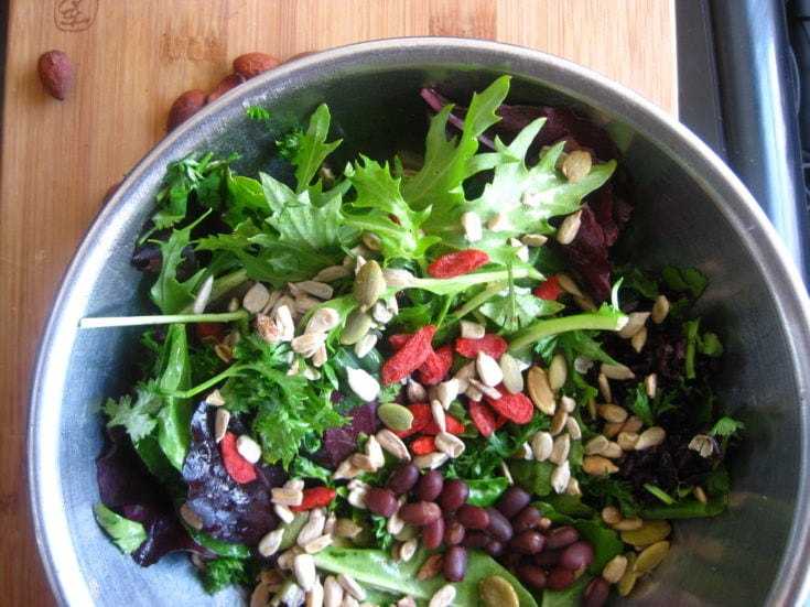 Quinoa Flax Salad Power Bowl Recipe