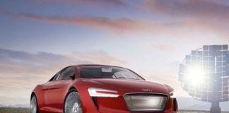 Audi R8 E-TRON Electric Car