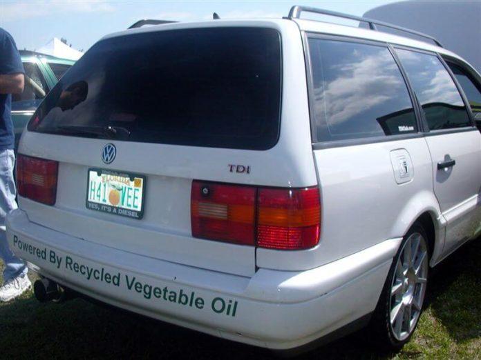 Vegetable Oil Car