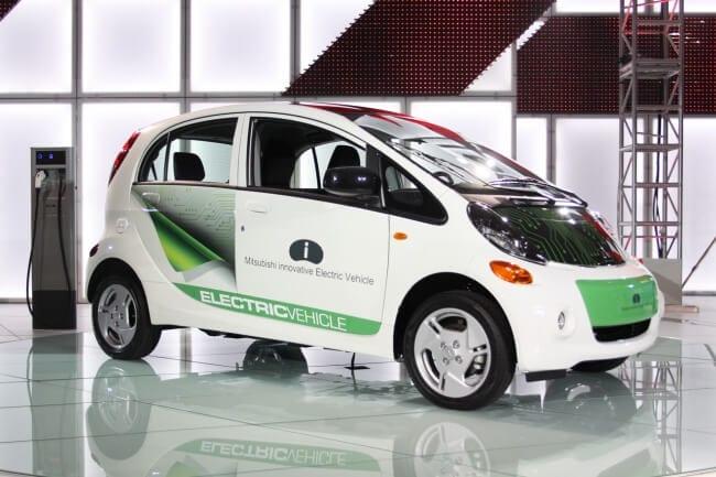 EVS26 Mistubishi iMIEV Ride Drive Charge
