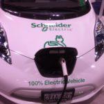 Schneider Electric Car Charging Nissan Leaf
