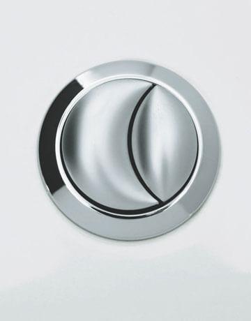 Low flush toilet button