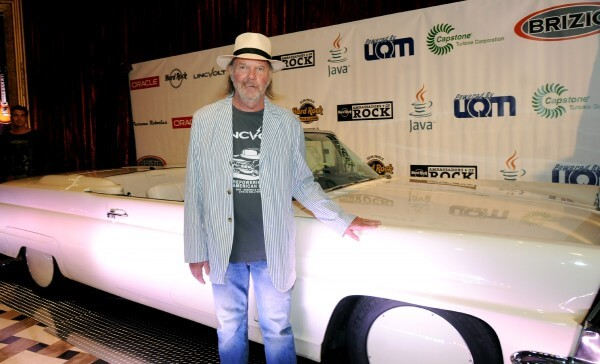 Neil Young and his LincVolt