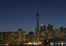 Earth Hour in Toronto