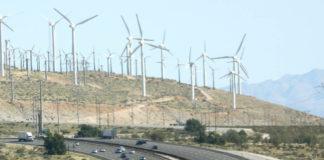 Wind Farm on Highway