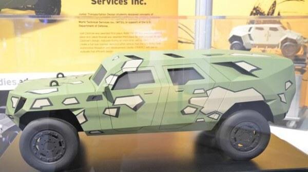 U.S. Army FED Bravo Beta Hybrid Vehicle