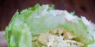 Lemongrass Tofu Lettuce Wraps