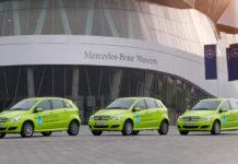 Mercedes B Class Fuel Cell