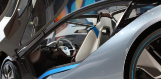 BMW i100 Electric Car