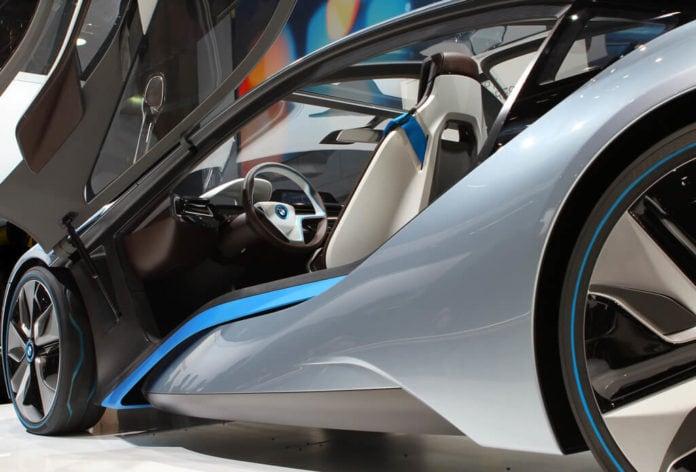 BMW i100 Electric Car