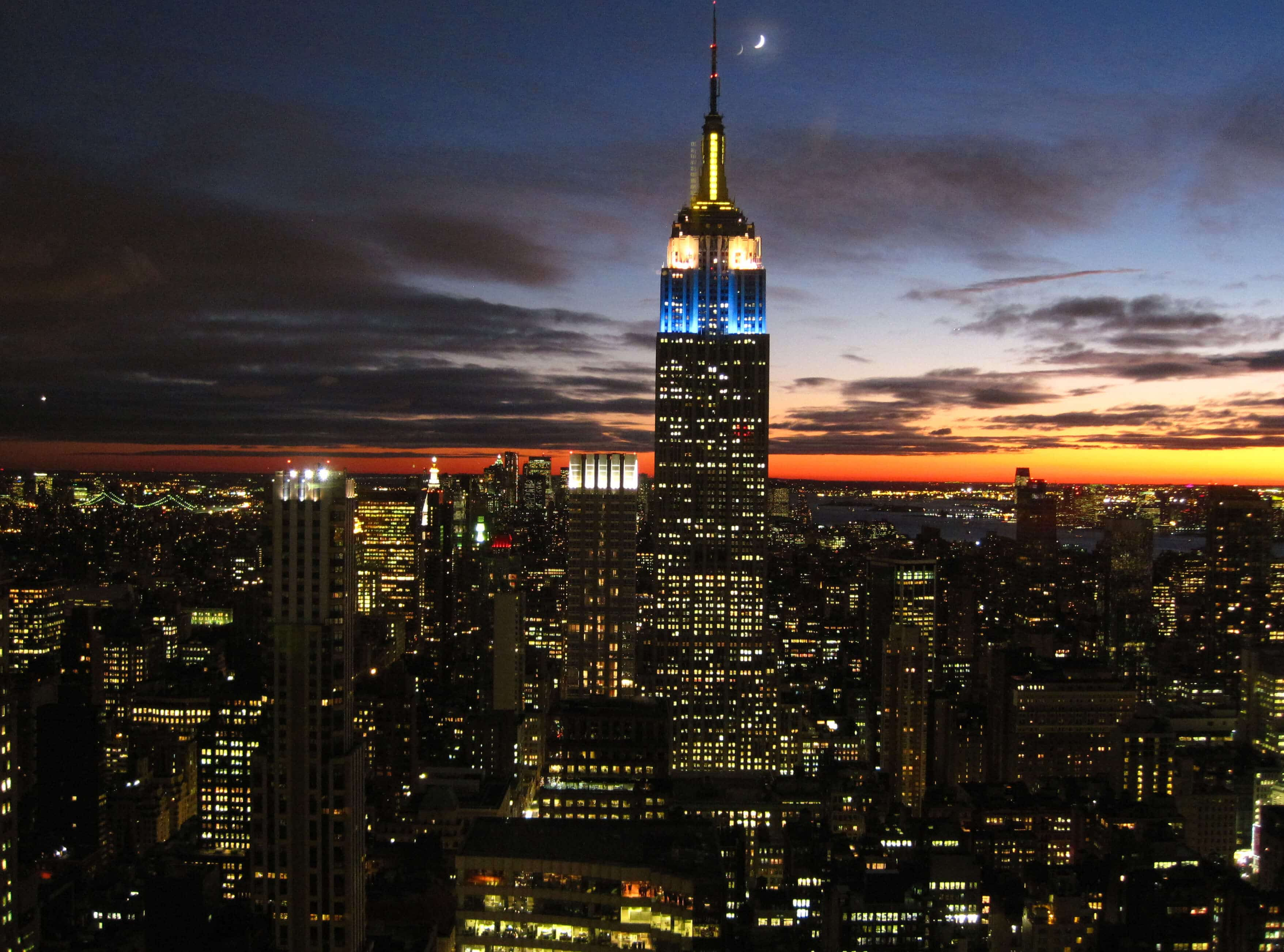 New Lights for the Empire State Building - Greener Ideal