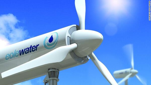Eole Water Wind Turbine