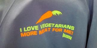 I Love Vegetarians - More Meat For Me