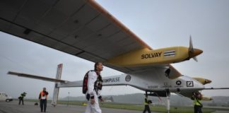 Solar Power AIrplane