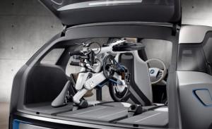 BMW iPedelec folded in i3