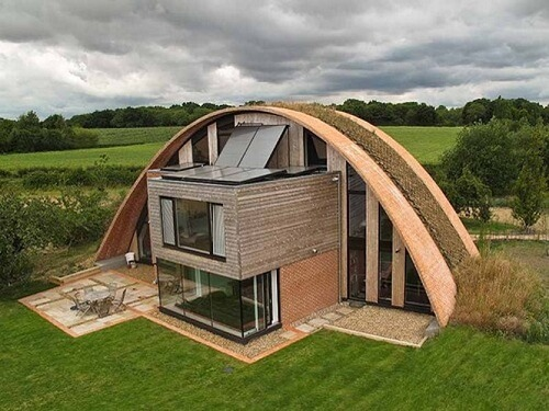 3 amazing eco homes in the united kingdom greener ideal for Environmentally sustainable house plans