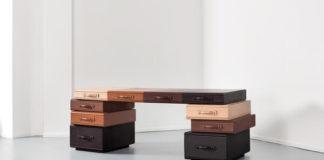 MaartenDeCeulaer leather desk