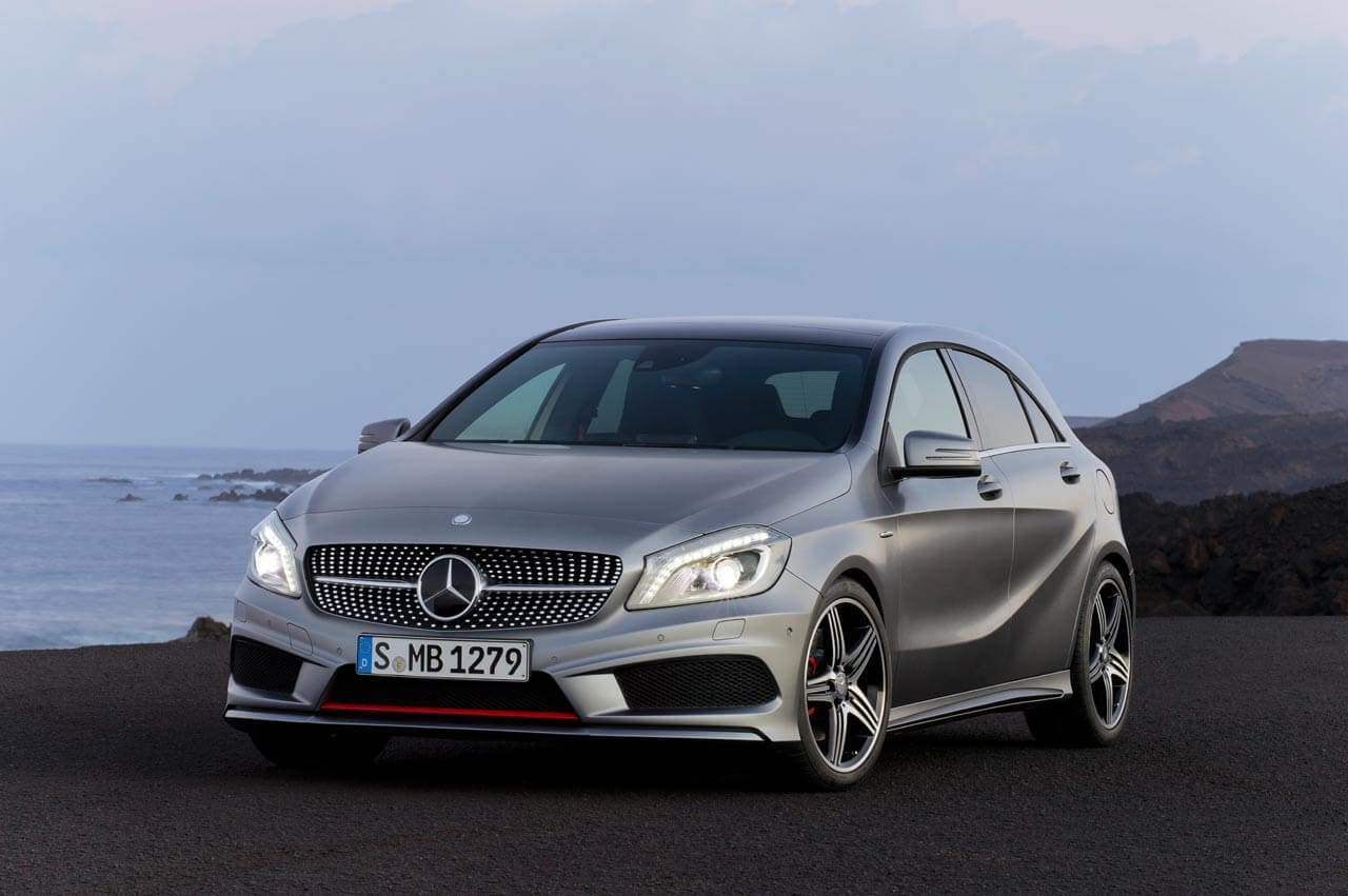 Mercedes-Benz A-Class Offers High Fuel Economy and Driver Safety