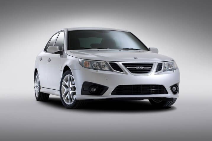 National Electric Vehicle Sweden Developing All-Electric Saab 9-3