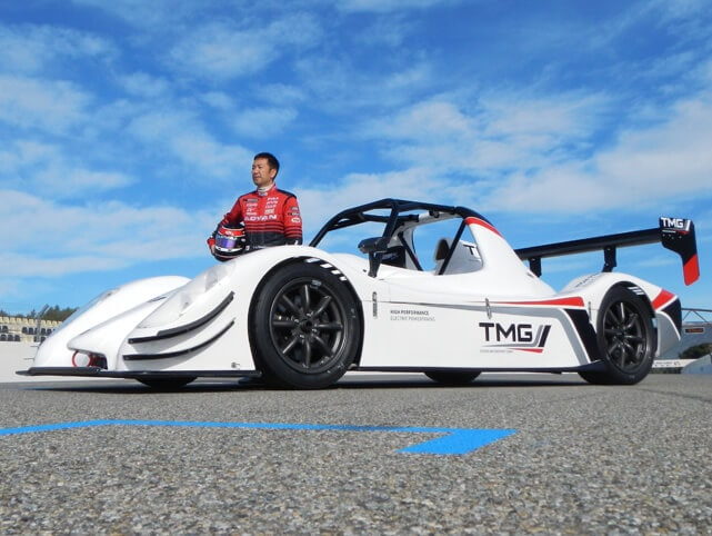 Toyota Motorsports Running All-Electric Race Car at Pikes Peak